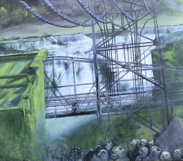 Oregon City Hydroelectric Dam