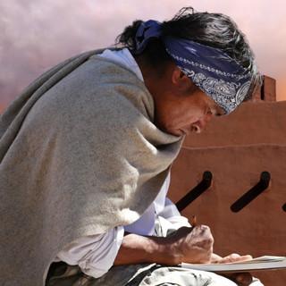 Second Place - Taos Pueblo Artist