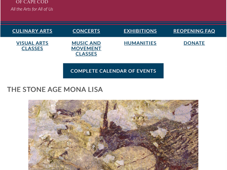 THE WEEKLY MUSE - The Stone Age Mona Lisa