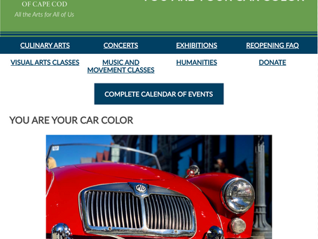 THE WEEKLY MUSE - You are Your Car Color