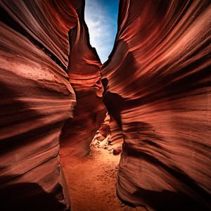 The Waves of Antelope Canyon