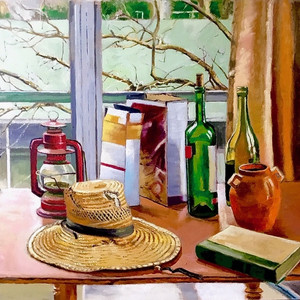 Still Life with Tree Branches