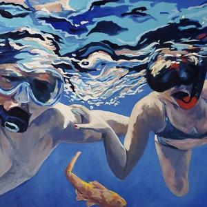 Snorkeling With Koi