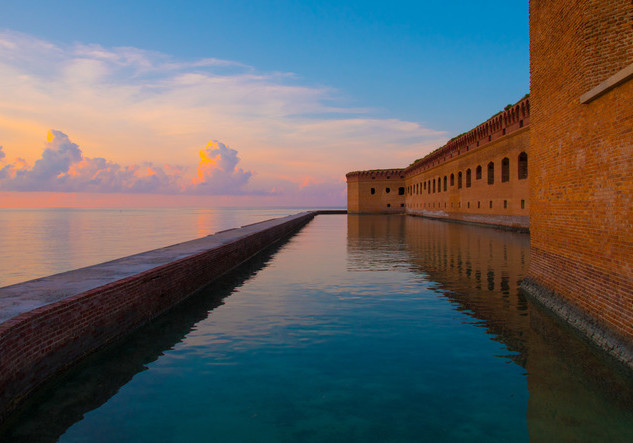Sunset at Fort Jefferson, Dry Tortugas 2020