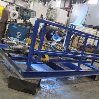 Chemical Pump Skid | Oil & Gas Fabrication