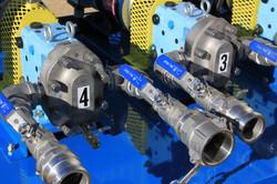 Chemical pump skid