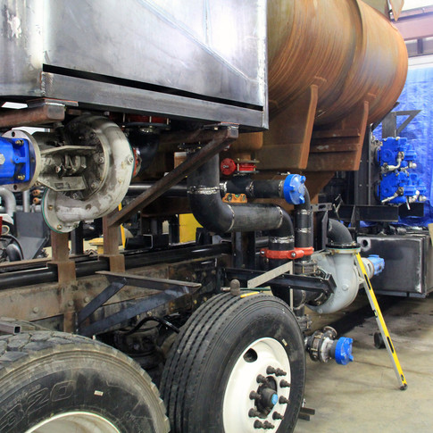 Acid Pump Truck Fabrication
