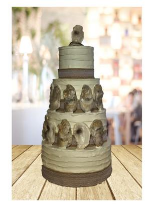Oyster Wedding Cake