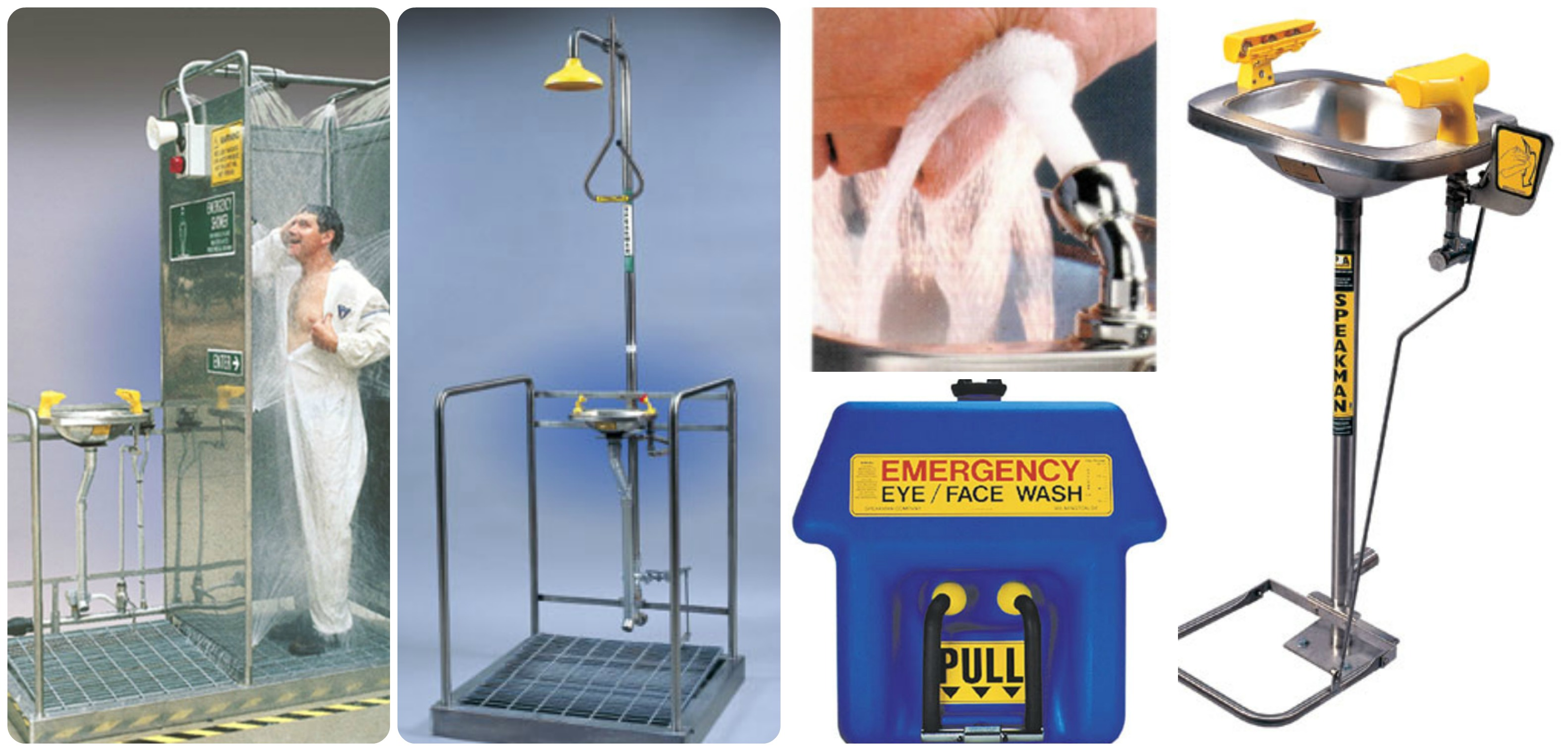 Showers & Eyewash Stations