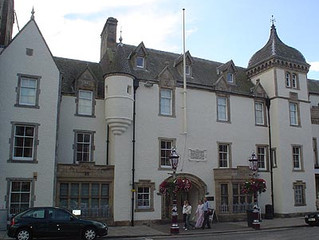 Tweeddale Museum and Gallery, and Peebles Library