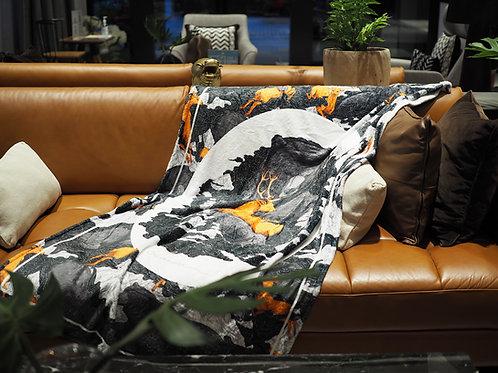ผ้าห่มขนนุ่ม Super Luxury ลาย Brooke (The Gentle Bear)