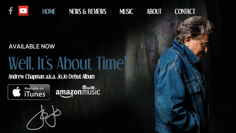 Andrew Chapman Website