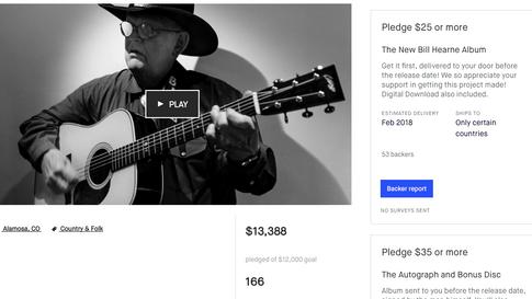 Bill Hearne Kickstarter