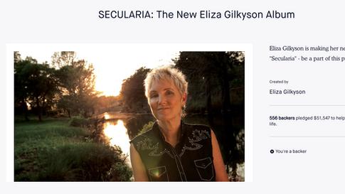 Eliza Gilkyson Kickstarter