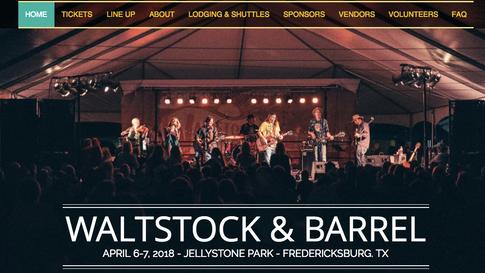 Waltstock& Barrel Website 2019