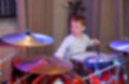 Matt and Amy's wedding| Young drummer | West Sussex Wedding