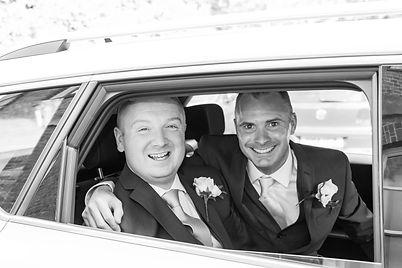 Husband and husband wedding | Horsham Registry Office | Keeran Roberts Photography