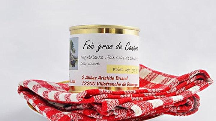 Foie gras de canard 90 g