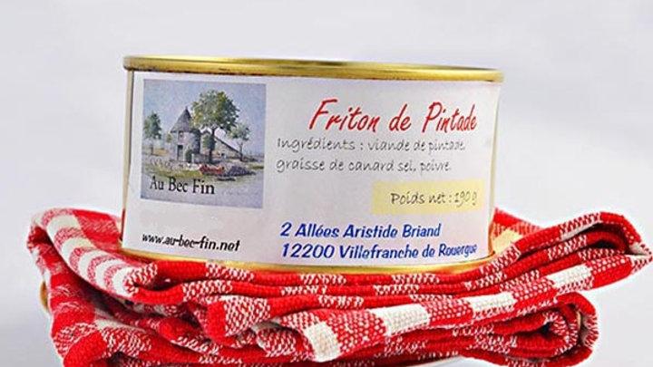 Friton de pintade 190 g