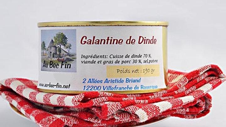 Galantine de dinde 190 g