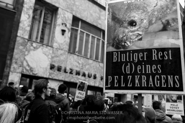AGAINST-FUR DEMO Vienna 2013