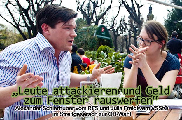 ALEXANDER SCHIERHUBER & JULIA FRIEDL