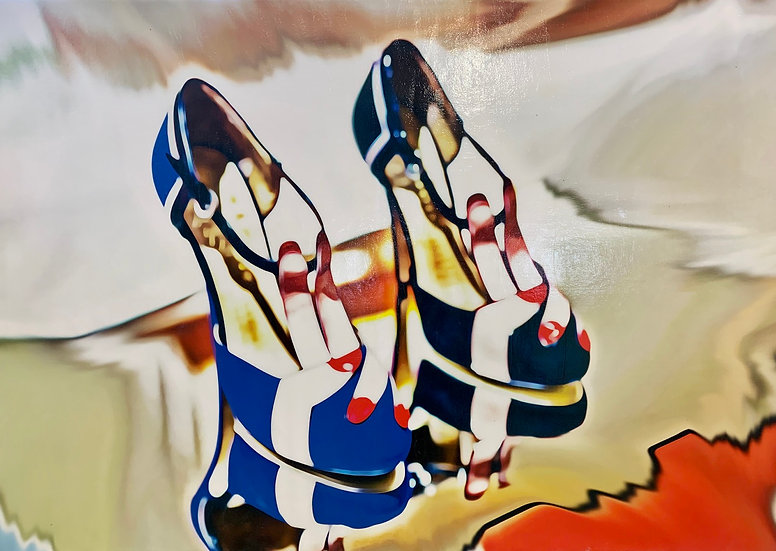 LOVE SHOES 140cm x 120cm