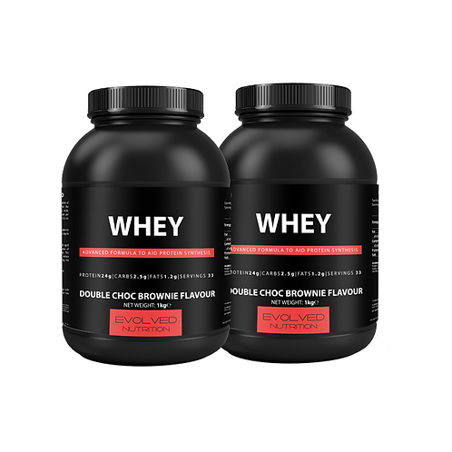 2x Whey Pack