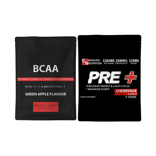 PRE+ & BCAA's Sample Packs