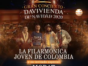 La Filarmónica Joven de Colombia y Morat abrirán la Navidad en Colombia con un gran espectáculo