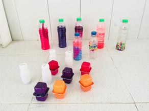 Tips para fortalecer el desarrollo de los niños en casa con empaques reciclables Alpina