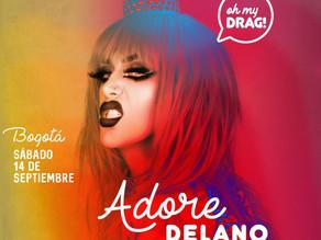 Adore Delano estará en Bogotá