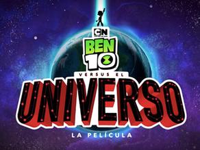 Ben 10 versus El Universo, se estrenará en octubre
