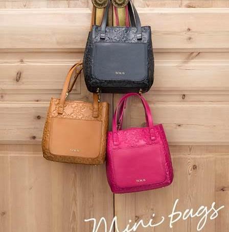¡Esta temporada el bolso se lleva mini!