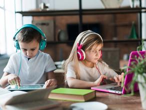 5 recomendaciones para ayudar a sus hijos a estudiar virtual desde casa