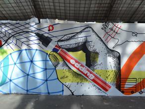 El arte urbano se toma Bogotá de la mano de Edding