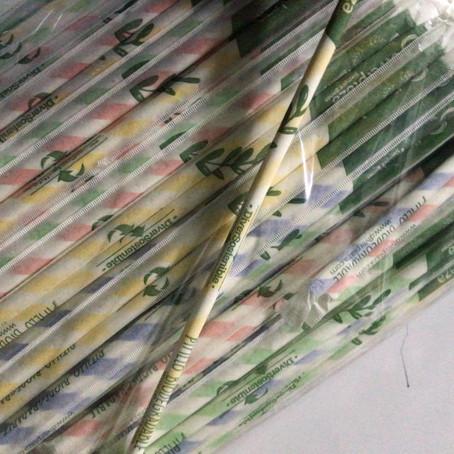 Conozca primer centro comercial en utilizar pitillos biodegradables
