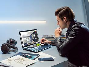 Llega a Colombia el innovador laptop con doble pantalla