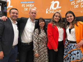 Ishop celebra sus 10 años con Es hora de dar