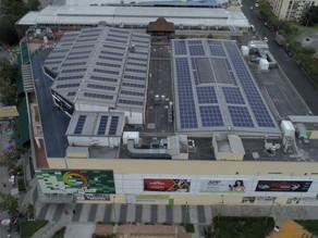 Diverplaza implementa 700 paneles solares reduciendo 91 toneladas de Co2 a la atmósfera