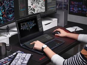 Nuevo laptop para jugar y crear