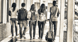 multi-racial teens