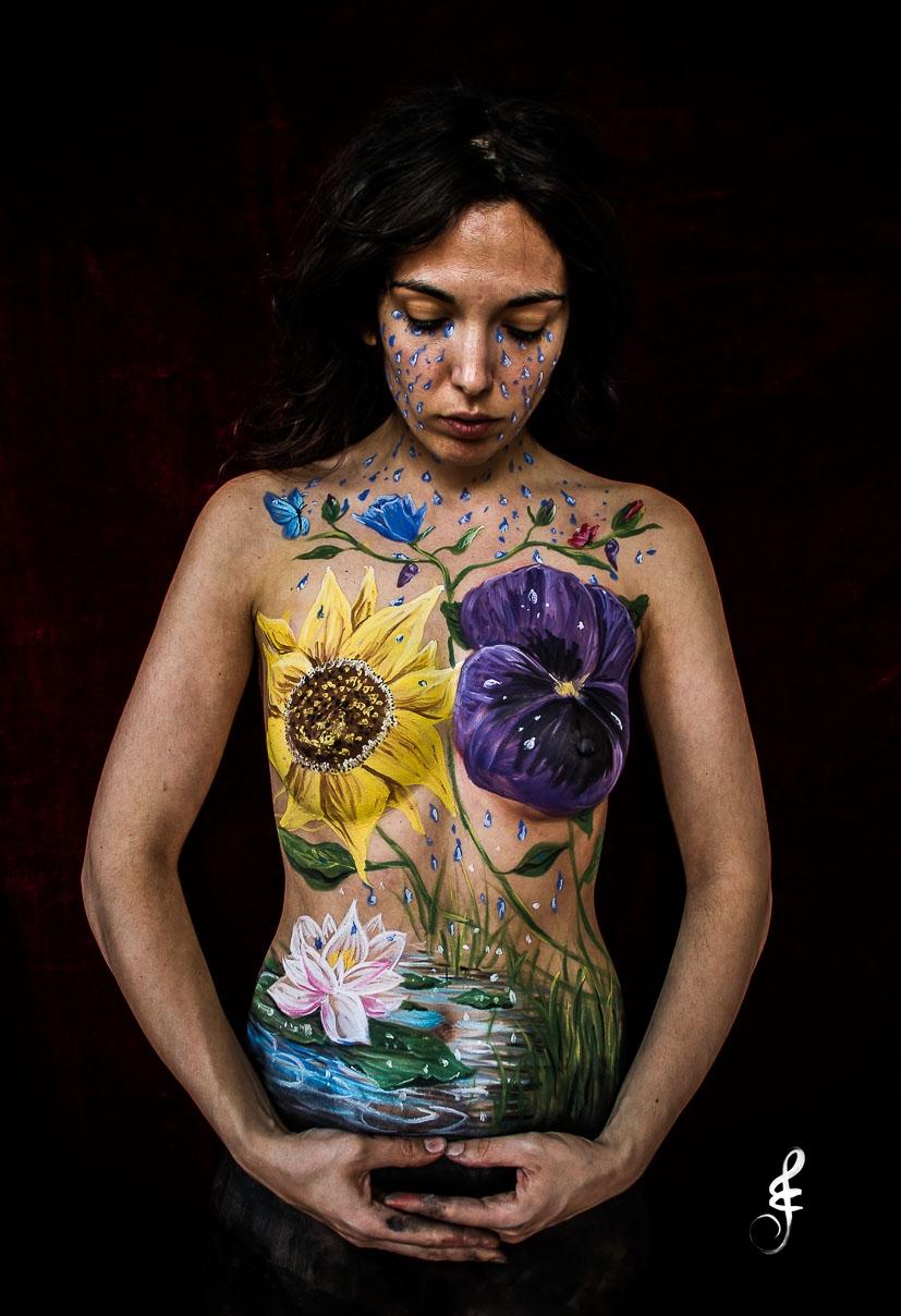 Tears flowers and butterflies