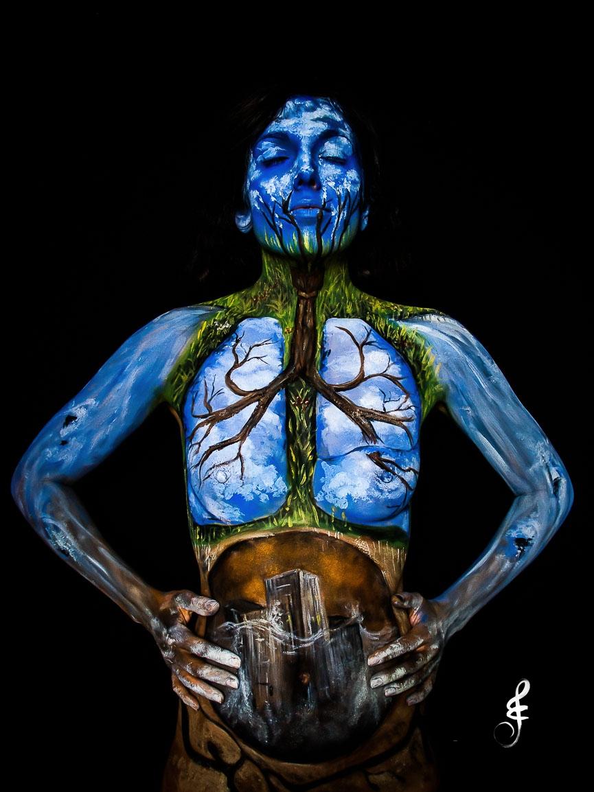 """""""Respirando Azul Clarito"""""""