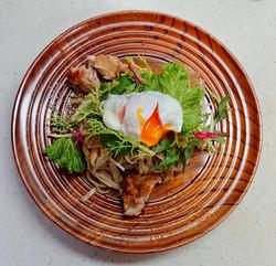 玄米パスタ~鎌倉野菜と鶏ソテー~