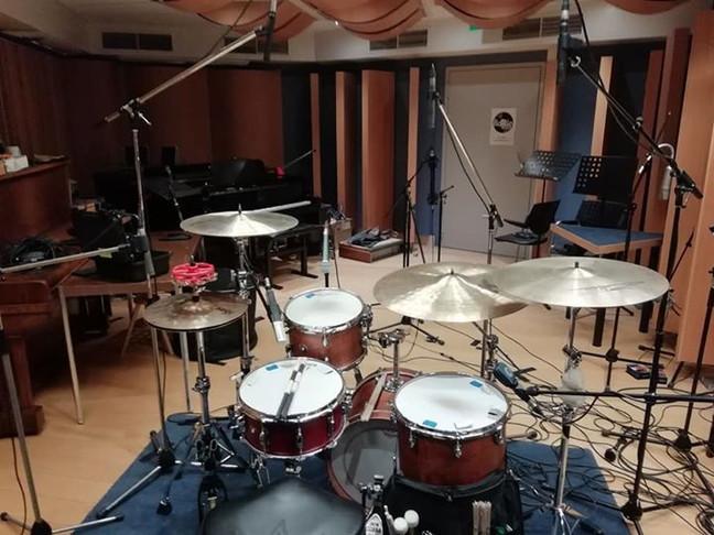 Recording _ Studio de province de Liége