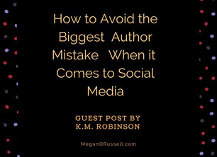 How to Avoid The Biggest Author Mistake When it Comes To Social Media