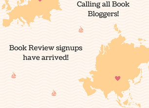 Book Review Signups!
