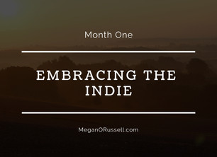 Embracing the Indie: Month One