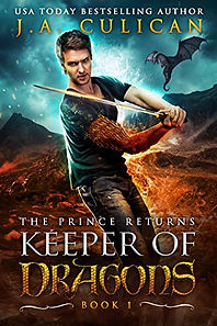 Keeper of Dragons by J.A. Culican